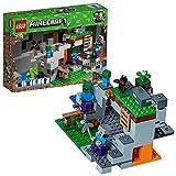 LEGO Minecraft-La Cueva de los Zombis Creative Adventures Juego de construcción,...