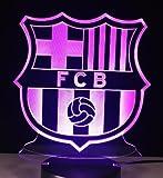 FC Barcelona Football Club Novelty Lamp