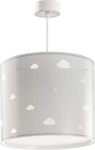 Dalber Sweet Dreams Lámpara Infantil de Techo Colgante Nubes, Gris