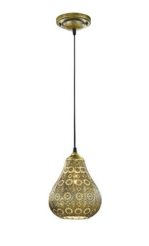 lámpara turca de techo