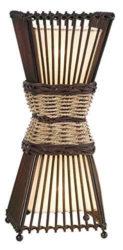 lámpara étnica africana