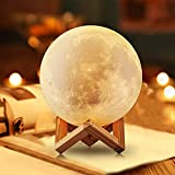 NSL Lighting Lampara de luna Luz de la luna Luces de la noche de la luna para los...