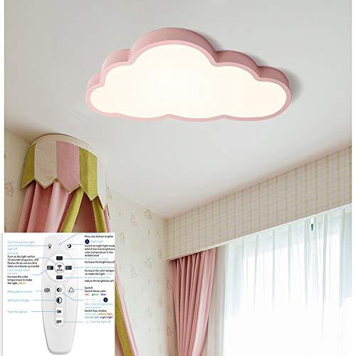 Regulable Lámpara De Techo Forma de Nube LED Ultraslim Luz De Techo con Control...