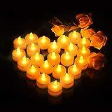 VicTsing Velas de LED Pequeñas con Efecto Llama, Velas Electricas Decorativas con...