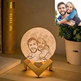 Lámpara de luna personalizada Gahaya foto personalizada impresa en 3D luz de noche...