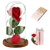 Anaoo Rosa Bella y la Bestia, Regalos San Valentin Originales para Mujer, Novia,...