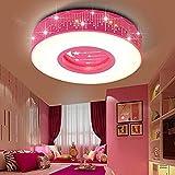 LYXG A la luz de la Sala de Niños Niñas dormitorio luz LED Luz Lámpara de techo...