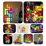 tetris apilable lámpara de escritorio diy construible estilo retro juego LED
