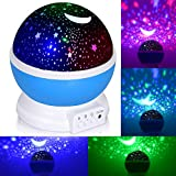 Adoric Proyector Lámpara De Dormir Lámpara Infantil Lámpara Proyector Infantil 360...
