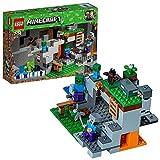 LEGO Minecraft - La Cueva de los Zombis, Juguete de Construcción Inspirado en el...