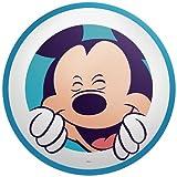 Philips Disney Mickey Mouse - Lámpara de techo, luz blanca cálida, color azul