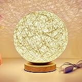 KNONEW Lámpara de bajo consume de estilo de caña ahorro de energía pantalla para...