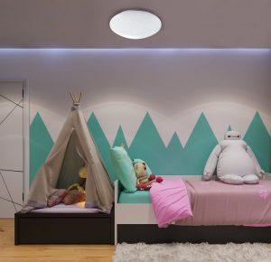 lampara plafon techo infantil estrella (4)